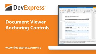 DevExpress Reports: Responsive Report Layouts with Control Anchoring in Print Preview