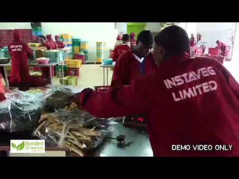 BONDED GROCERIES DEMO VIDEO