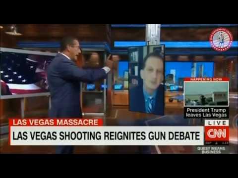 Erich Pratt on CNN-International Debating the Las Vegas Shooting