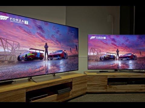 Sony Kd 75 Xe9405 Xe94 Im Test Bildvergleich Mit Samsung Ks9590