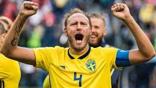 Uppsnack inför Sveriges match mot Ryssland i Nations League