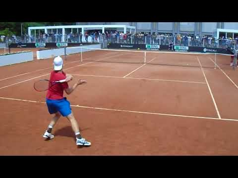 Denis Shapovalov Practice | Rome 2018 | Court Level