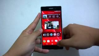 Antarmuka Sony Xperia Z2