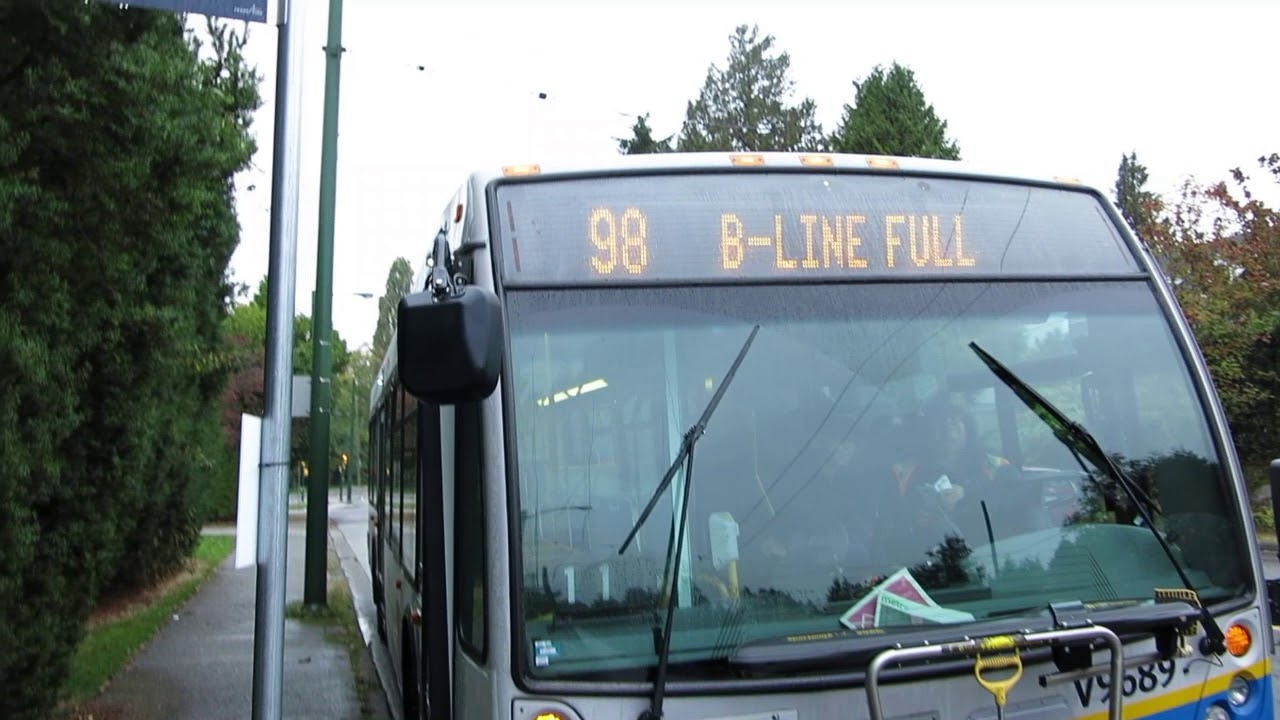 98 B Line Full Take Next Bus Right V9689