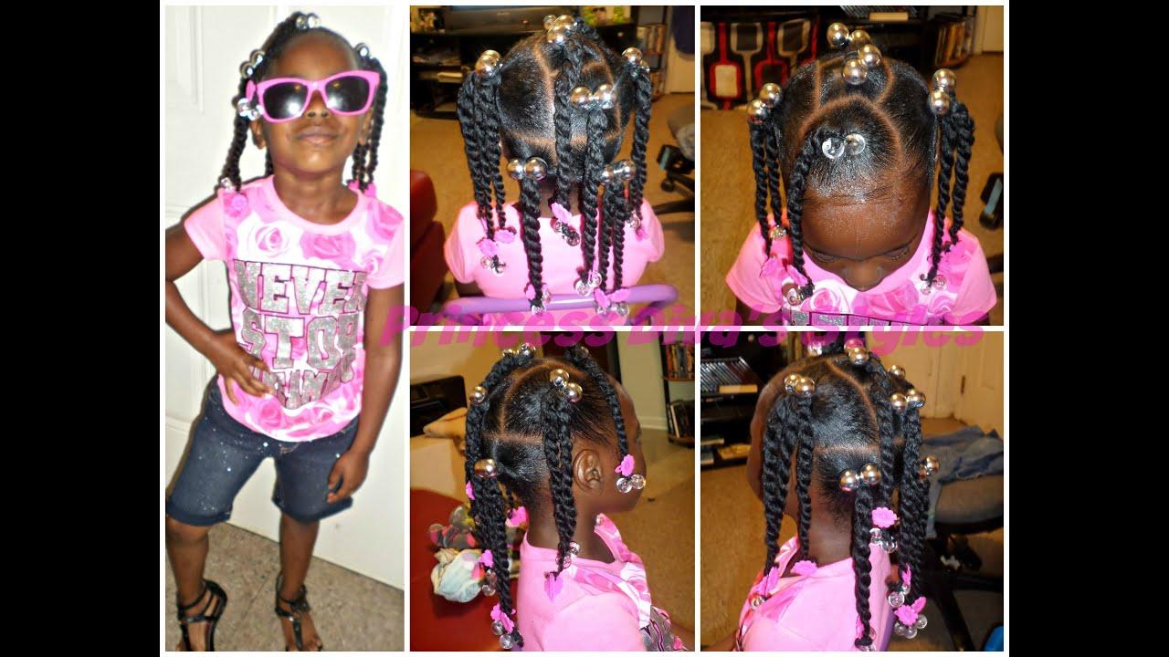 Kids Hair Refreshing Ponytails