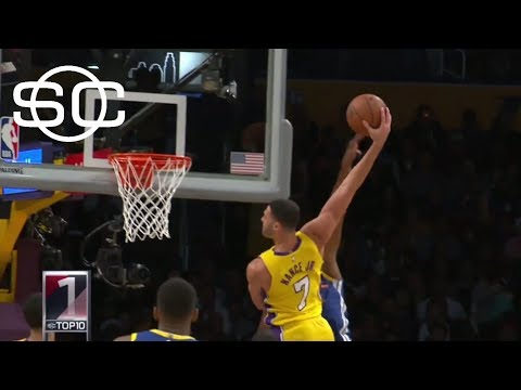 Top 10 plays from first half of the 2017-18 NBA season | SportsCenter | ESPN