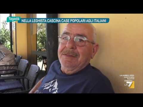 Nella leghista cascina case popolari agli italiani