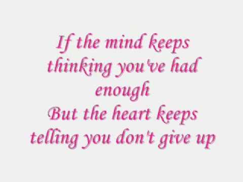 just stand up - with lyrics