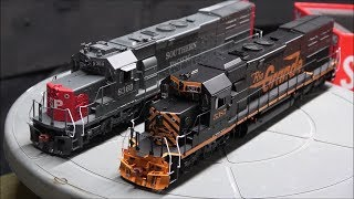 Review: ScaleTrains.com SD40T-2 Tunnel Motor w/LokSound V5 Scale Trains HO Scale