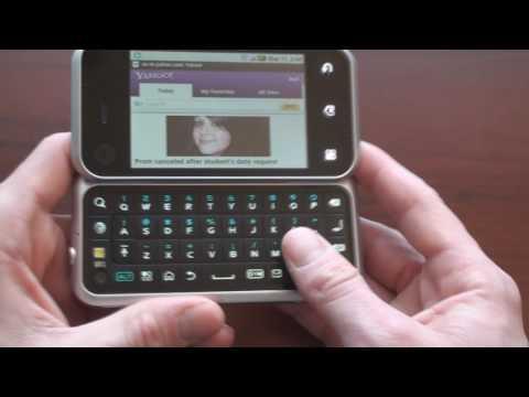 AT&T Motorola Backflip Software Tour