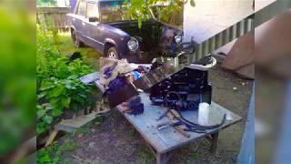 ЛуАЗ ремонт, установка двигателя Ваз
