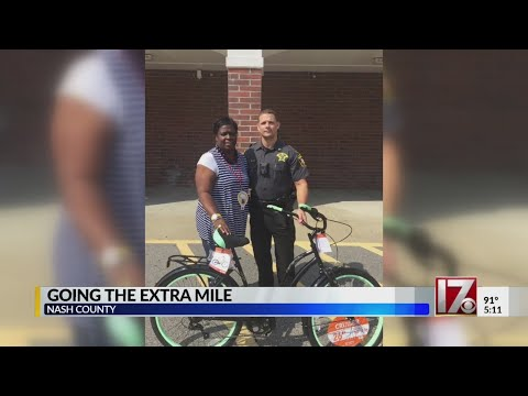 Nash County deputy helps woman who walks 12 miles round trip to work