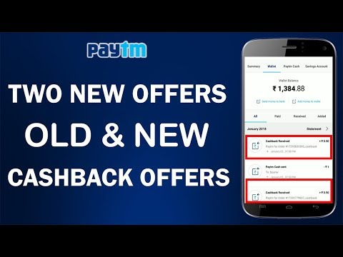 New Paytm Offers of 2018 : Send Money & 100% Cashback Offer !! New paytm promocode !!