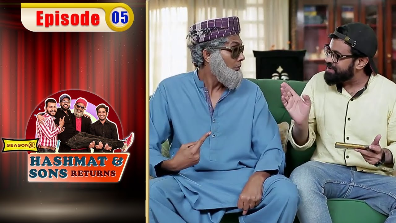 Hashmat & Sons Return - Episode 5 | Season 3 | Comedy Ki Dunya | OR1O