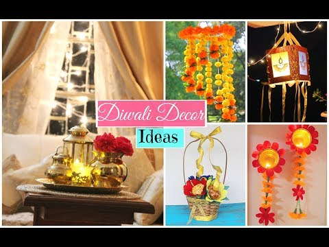 Latest Diwali Home Decoration Ideas Youtube