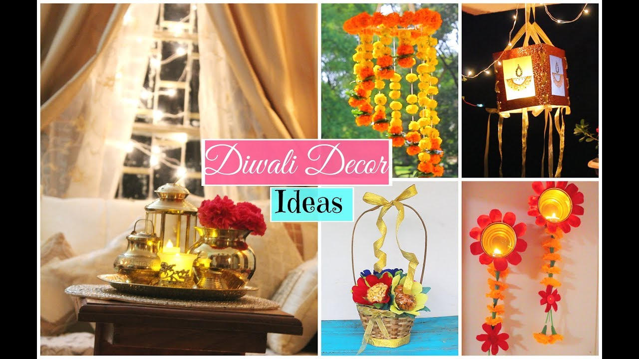 Latest Diwali Home Decoration Ideas Youtube