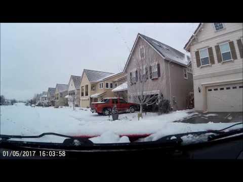Minden Nevada Snow Driving