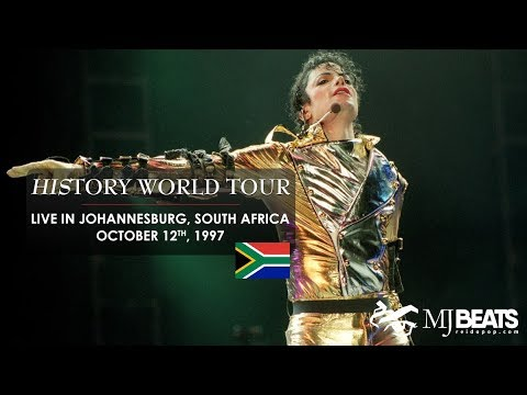 Michael Jackson live in Johannesburg, South Africa [live str
