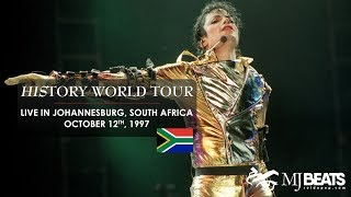 MJ Beats (http://www.reidopop.com/) proudly presents the complete concert from HIStory World Tour live in Johannesburg, South Africa, via streaming. It's such ...