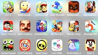 Plants vs Zombies 2 Granny Horror Game Subway Surfers World Tour Zurich Teeny Titans 2 PJ Mask Games