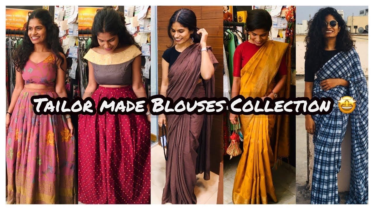 Tailor made Blouses Collection   My blouses Collection   nayalooks   Navya Varma