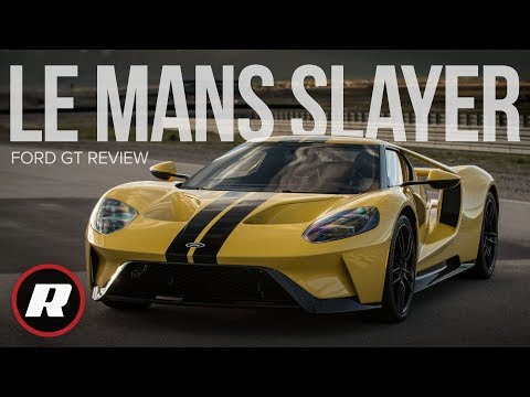 First drive in the epic Ford GT on road and track
