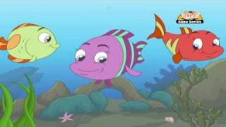 Panchatantra Tales in Telugu - A Tale of Three Fish