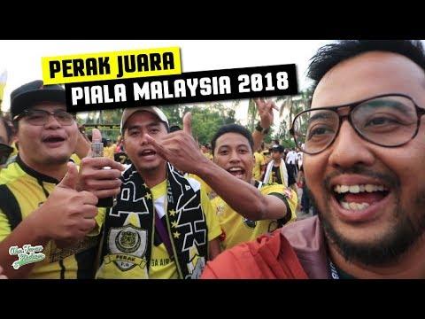 PERAK JUARA PIALA MALAYSIA 2018!