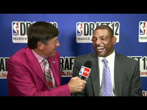 Doc Rivers talks about son Austin being drafted!