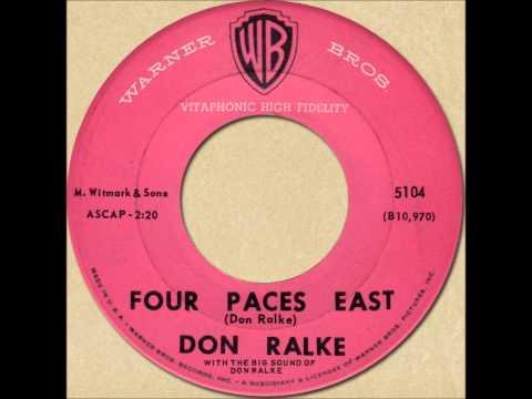 DON RALKE - FOUR PACES EAST [Warner Bros. 5104] 1959