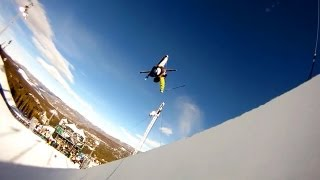 GoPro HD: Tucker Perkins @ Breckenridge Pipe – Winter Dew Tour 2010