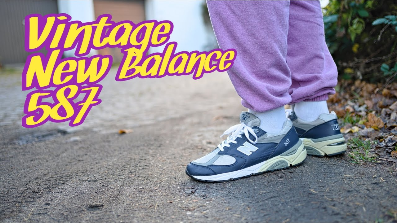Adicto esperanza Iniciar sesión  I wish Ronnie Fieg and New Balance Would Re-Release this Vintage 587 Model  / Review & On Feet Video - YouTube