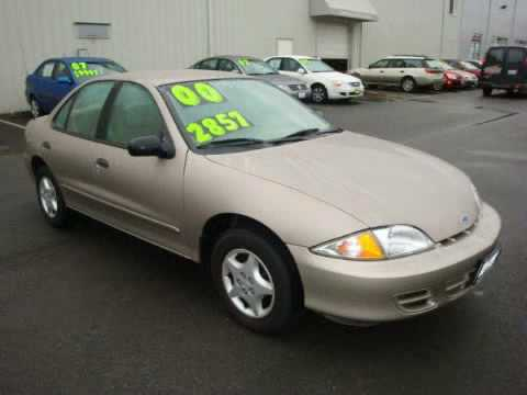 2000 Chevrolet Cavalier Everett Wa 98204 Youtube