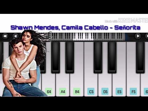 shawn-mendes,-camila-cabello---señorita---mobile-perfect-piano-cover-||-sb-galaxy