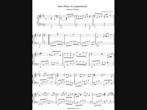 Piano : ikaw piano chords yeng constantino Ikaw Piano Chords in Ikaw ...