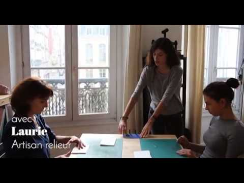 Wecandoo -  Laurie Archimbaud, Artisan Relieur - Paris