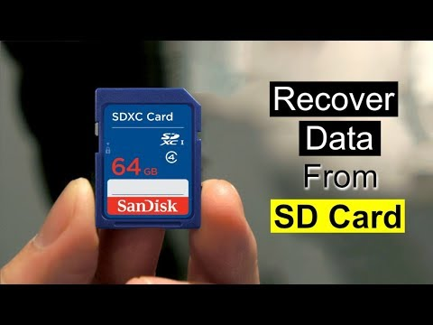 How To Recover Deleted Files From SD Card For Free