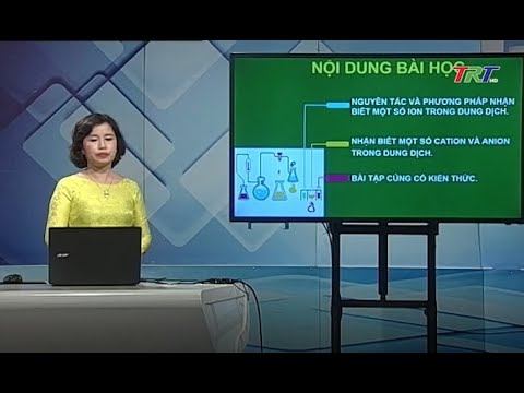 Hóa học 12: Nhận biết một số ion trong dung dịch