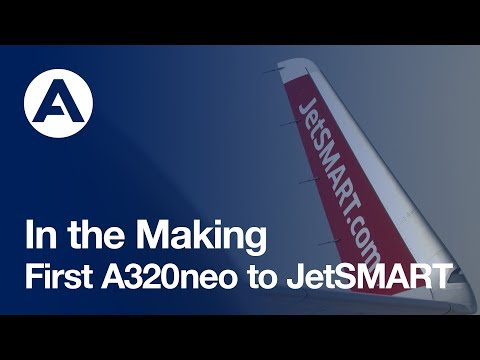 In the Making: First #A320neo to JetSMART