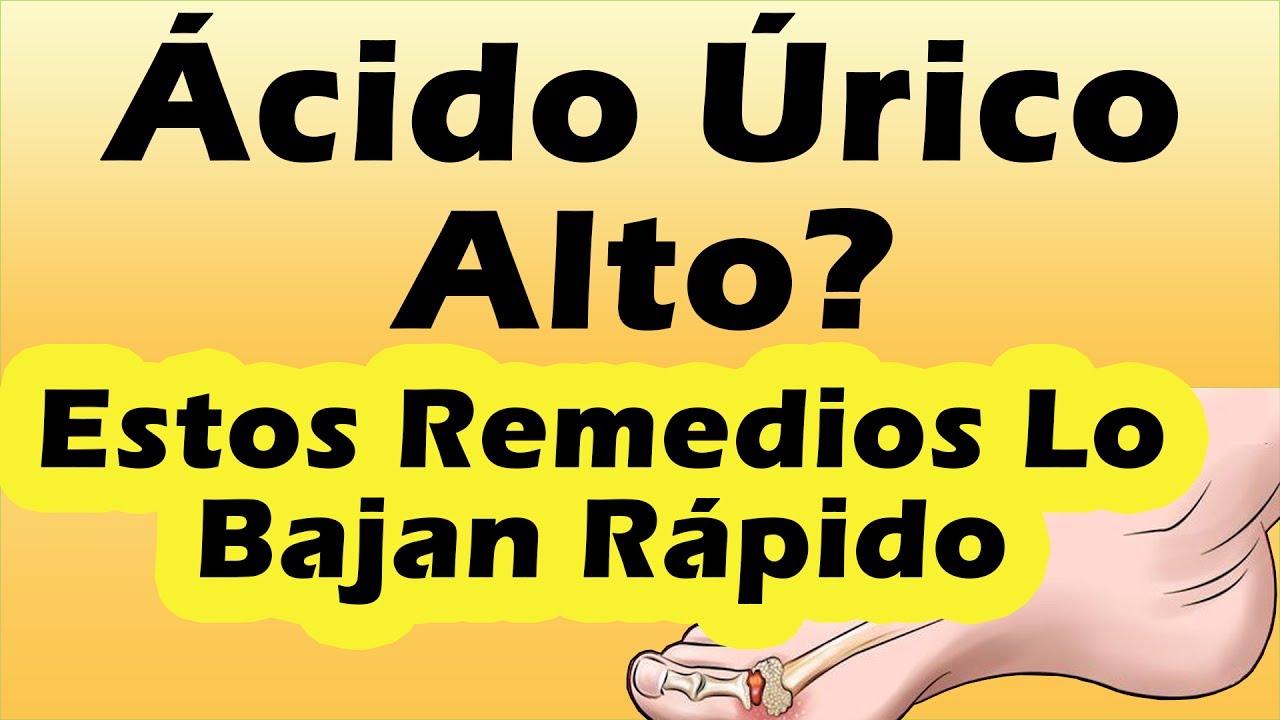 Urico para bajar acido medicamento mejor el