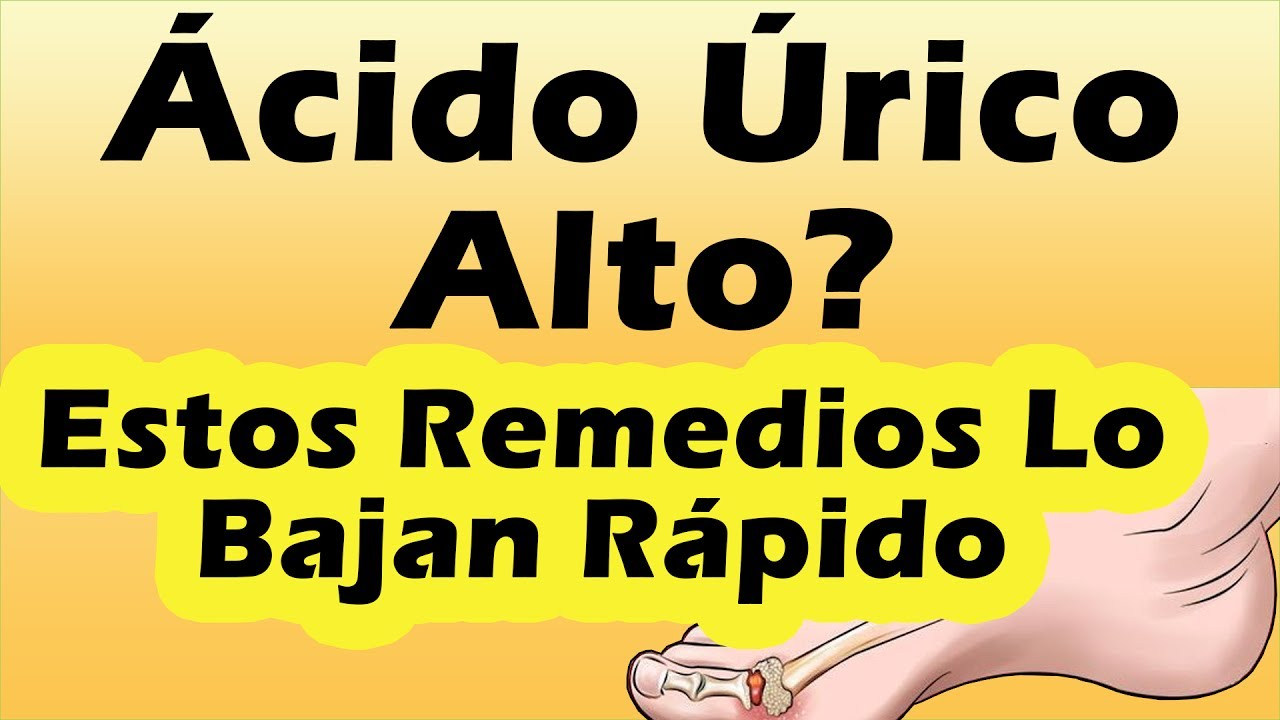 tratamiento para acido urico natural