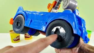 paw patrol toys video review playdoh disney pixar cars carrying case