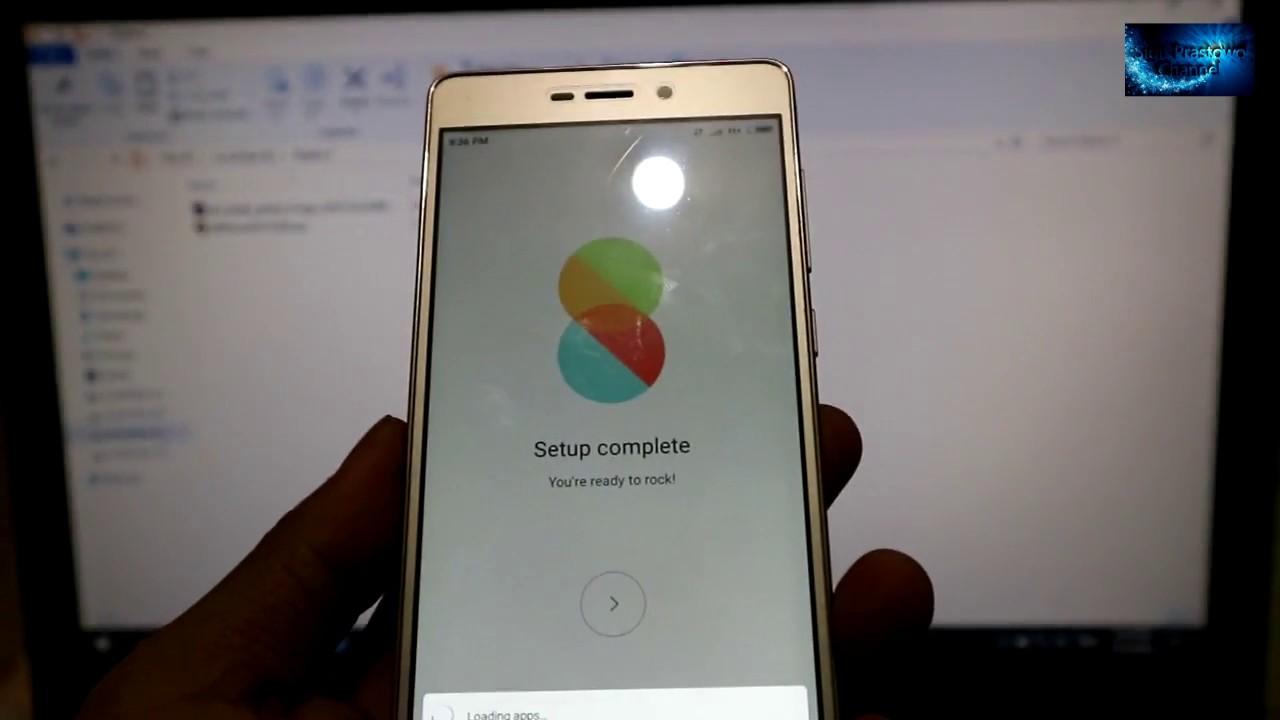 Cara Flashing / Update MIUI 8 Xiaomi Redmi 3 / Redmi 3 Prime Menggunakan Mi  Flash Tool