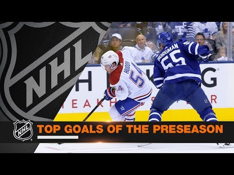 Top 10 Goals of the 2018 NHL Preseason