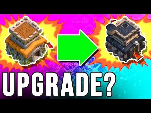 MAX TH8 to TH9 | CLASH OF CLANS |  UPGRADE TOWNHALL?
