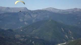 videofragment parapente boven Lac de Castillon