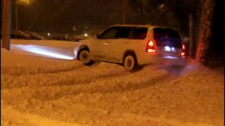 Subaru Forester SG5 зимний дрифт winter drift