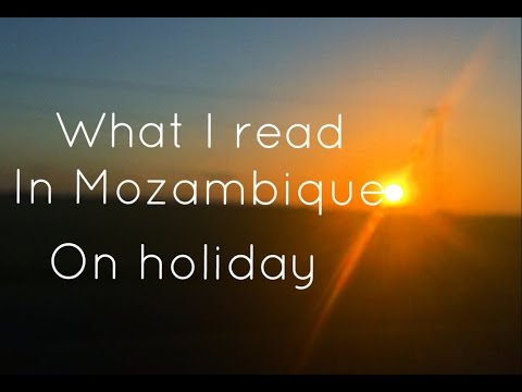 Vlog: what I read in Mozambique on holiday || LindaReads