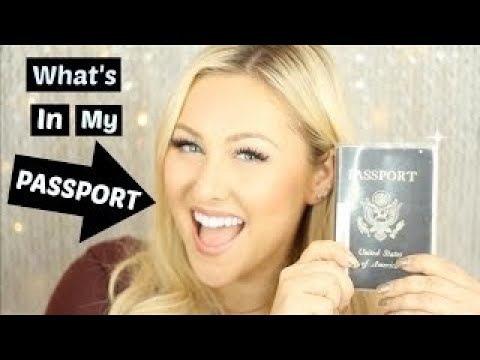 Whats in my passport?? | South African Blogger | ByLungi