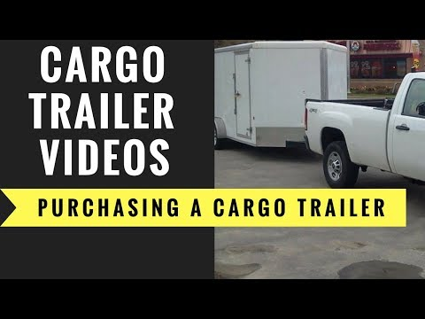 What is the best way to purchase a cargo trailer